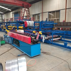 Factory made hot-sale Steel Roller Shutter Door Frame Machine -