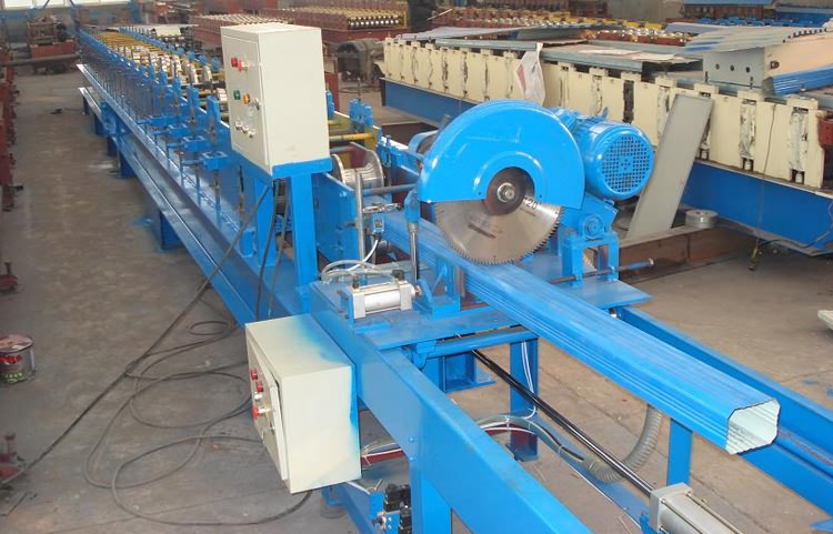 Downspout Cold Roll Forming Machine21