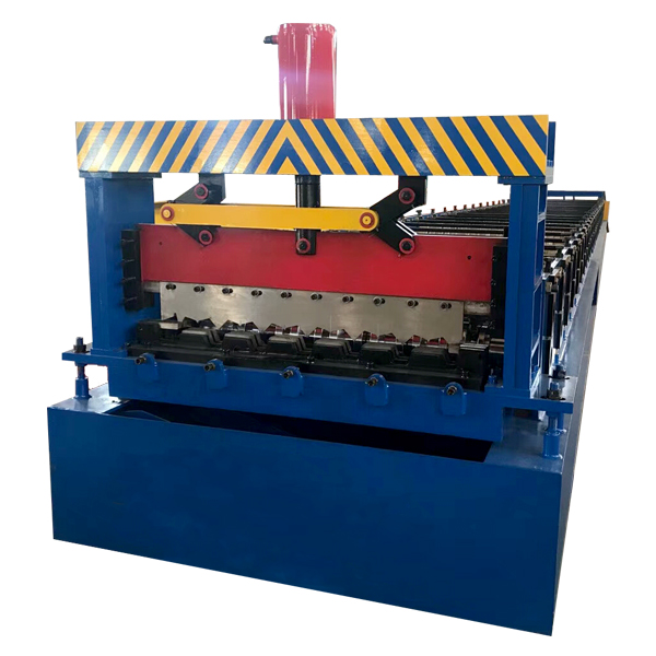 Factory Cheap Steel Shutter Gate Frame Machine - Top Grade Metal Floor Deck Sheet Roll Forming Machine Cold Roll Forming Machine – Haixing Industrial