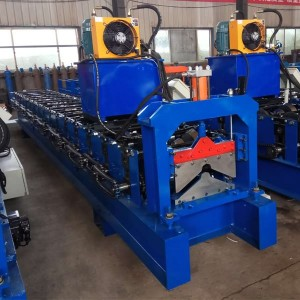 Hot Selling for Zinc Roofing Sheet Roll Forming Machine -