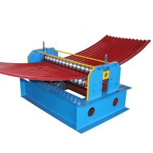 Ordinary Discount Round Gutter Making Machine -