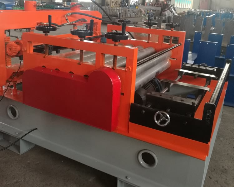 steel plate leveling machine21