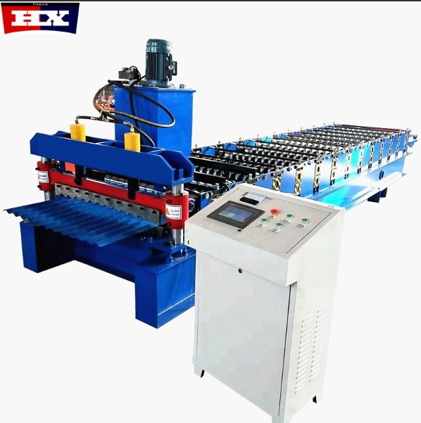 Corrugated sheet roll forming machine Featured Image