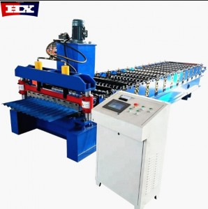 762 Hot Sale aluminium wall sheet used metal roof panel roll forming machine