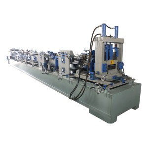 Automatic CZ interchange purlin machine