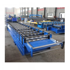 Glazed iron automatic roofing sheet making machine taiwan