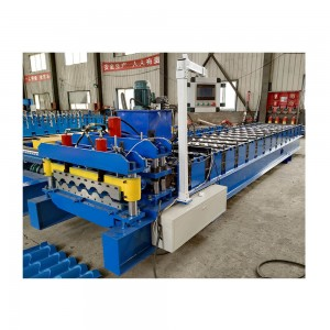 800 tile glazed steel roof shingles machine manual making