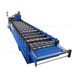 Aluminum glazed sheet roll forming machine