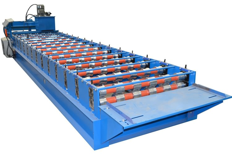 aluminum trapezoidal roof making machine21