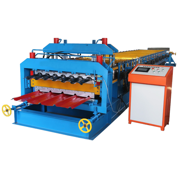 China Cheap price Half Round Gutter Roll Forming Machine - Double Layer Metal Tile Making Machine – Haixing Industrial
