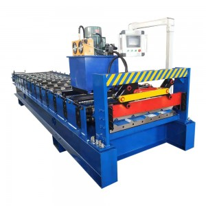 Steel Trapezoidal Sheet Roll Forming Machine