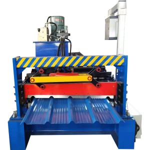 single layer roof sheet roll forming machine