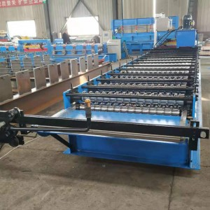 Cheap corrugated iron roofing sheet making machine