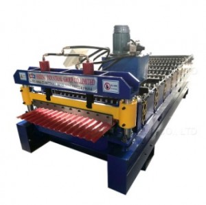 Corrugated roof and wall panel roll forming machine 850