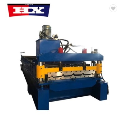 PLC control IBR 840 profile roof sheeting roll forming making machine Featured Image