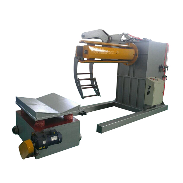 OEM/ODM Manufacturer Steel Roofing Tiles Roll Forming Machine With Uncoiler - Hydraulic decoiler with car – Haixing Industrial Featured Image