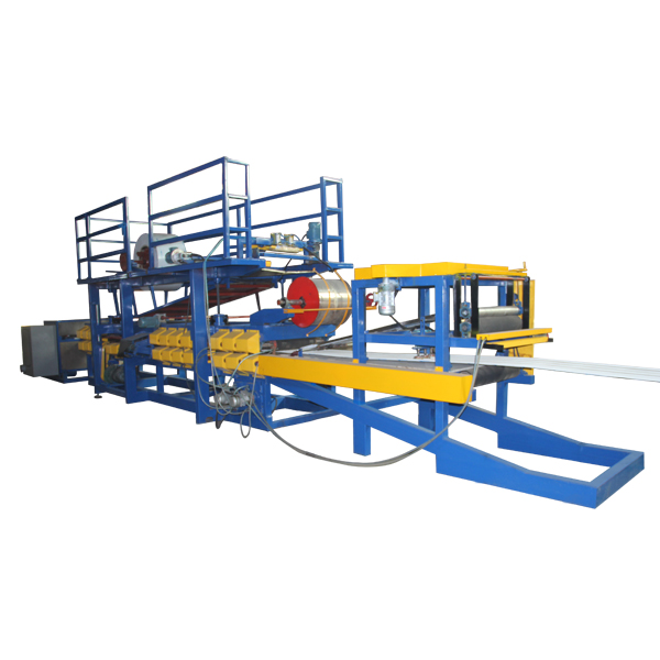 Best quality Sandwich Panel Roll Forming Machine - EPS Sandwich Wall Panel Forming Machine – Haixing Industrial