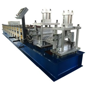 Super Purchasing for Floor Deck Roll Form Machine - Roof ridge making machine – Haixing Industrial