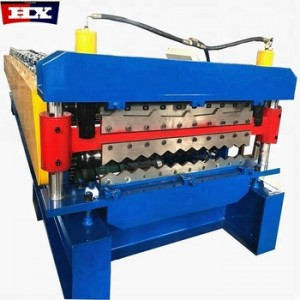 Double layer galvanized roofing sheet roll forming machine China