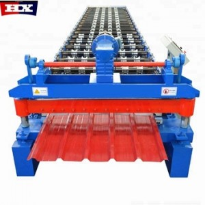 Botou Cold Rolled Steel ibr roof sheet forming machine