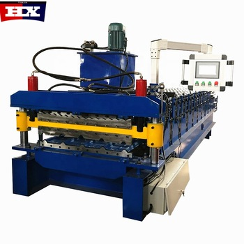 Most Popular 840 850 Double Layer Roof Automatic Tile Roll Making Forming Machine Featured Image