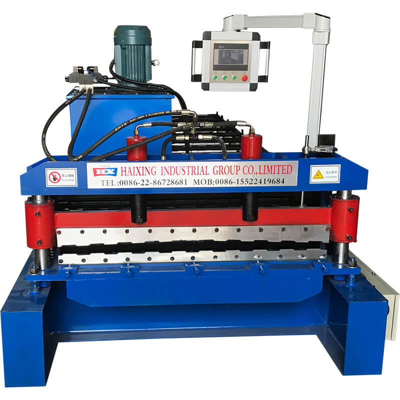 High-speed Automatic Roof Sheet Forming Machine Featured Image