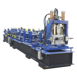 Steel C Z U Purlin Roll Forming Machine