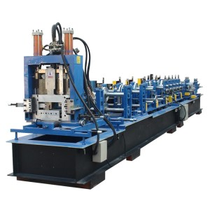 Automatic CZ Mee Steel Purlin mpịakọta akpụ Machine