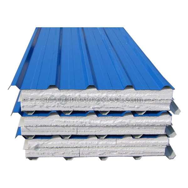 Excellent quality Cross T Bar Roll Forming Machine - Eps Sandwich Panel Roofing Tiles – Haixing Industrial