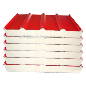 PU Sandwich Panel Roofing Tiles