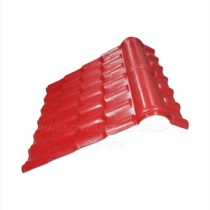 Pvc Plastic Synthetic Resin Roof Tiles
