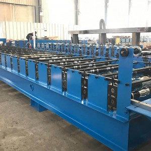wall sheet metal roof panel roll forming machine