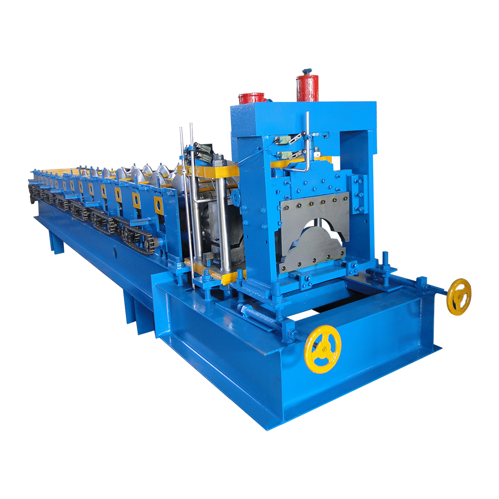 OEM Customized Steel Cutting And Bending Machine - Newly Arrival -end Low Roof Panel Ridge Cap Tile Machine – Haixing Industrial