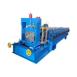 Galvanized Ridge Roofing Cap Roll Forming Machine