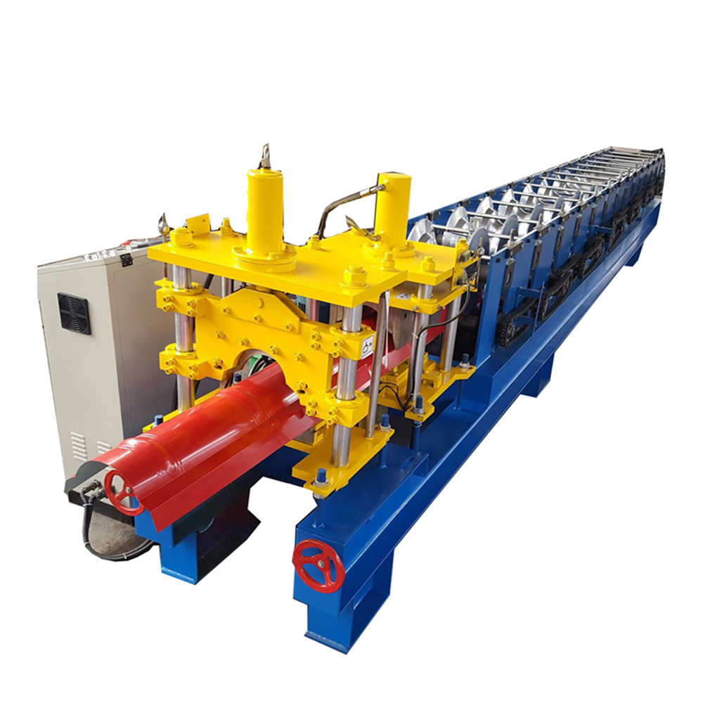Best Price for Rain Gutter Down Pipe Rolling Forming Machinery - Roof Ridge Roll Forming Machine – Haixing Industrial