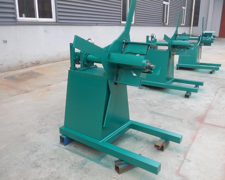 5 Ton Hydraulic Galvanized Steel Coil Decoiler21