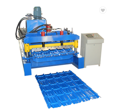 Hot Sale Multi-wave Glazed Tile Roll Forming Machine Featured Image