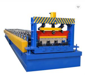 Buena calidad máquina de rollos para chapa suelo piso en construcción