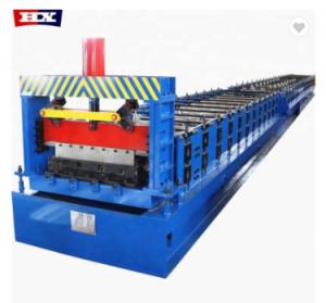 Pasa CE & ISO de Metal cubierta de piso rollo formando la máquina con precio barato para la venta