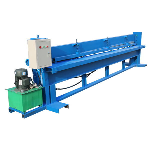 Leading Manufacturer for Downspouts Steel Sheet Shaping Roll Forming Machine - Metal cut to length machine – Haixing Industrial