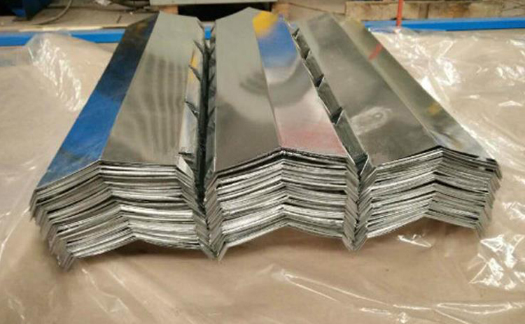 Color Coated Steel Ridge Cap For Roof2