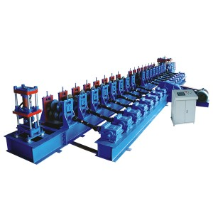 Metal Sheet Highway Guardrail Roll Forming Machine