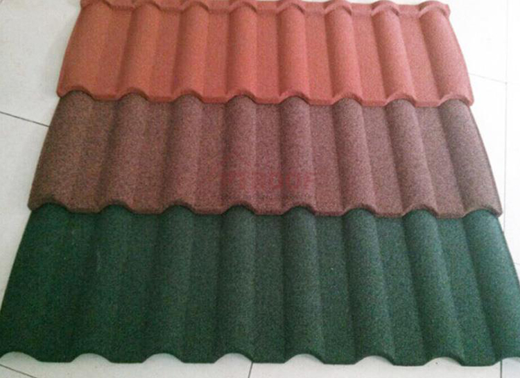 Stone Coated Metal Roofing sheet2