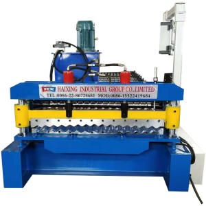 corrugated roof sheet making machine price