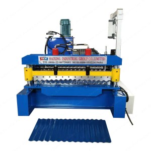 Supply OEM/ODM Used Metal Roof Panel Roll Forming Machine/building Material Machinery /portable Roll Forming Machine