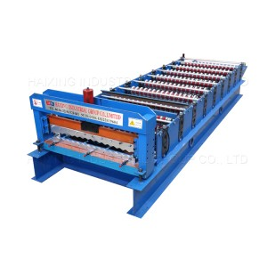 Color Steel Roof And Wall Sheet Roll Forming Machine