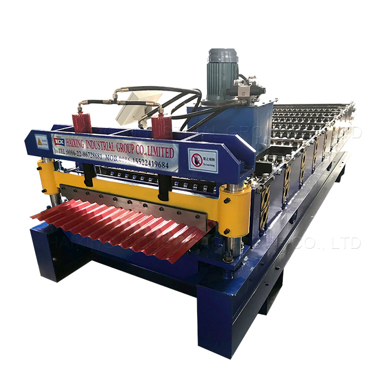 Manufacturing Companies for Manual Profile Bending Machine - Corrugated roof and wall panel roll forming machine – Haixing Industrial