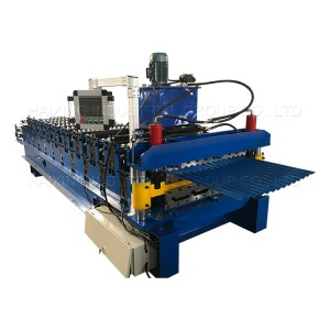 Corrugated Metal Roof Sheet Tile Making Machine