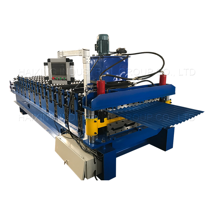 Color Steel Roof Sheet Roll Forming Machine Featured Image