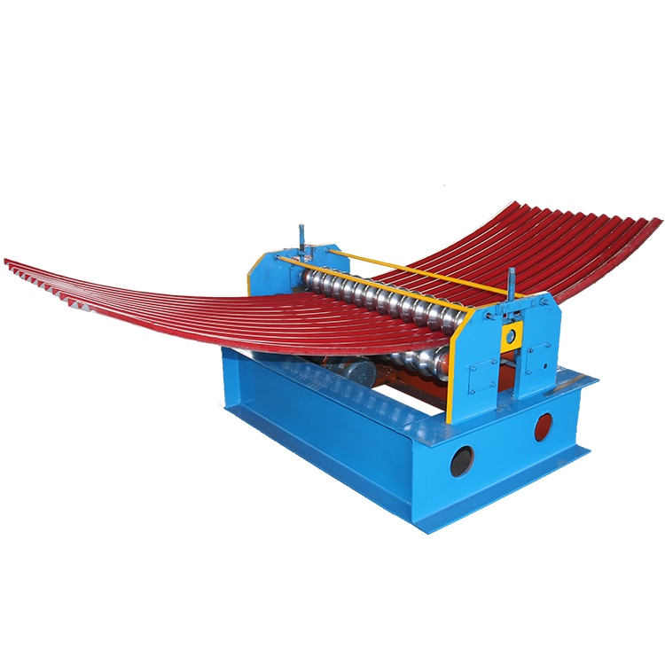 Curved Corrugated Roof Panel Roll Forming Machine Featured Image